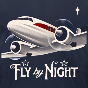 aeroplane travel T-Shirts - Men's T-Shirt by American Apparel