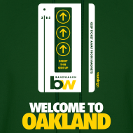 Design ~ Welcome to Oakland - Men's Hoodie