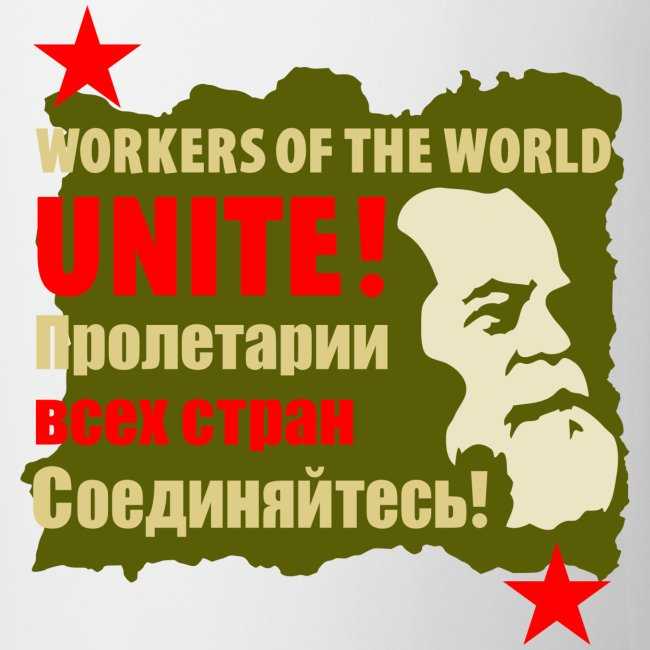 Karl Marx Workers Unite Coffee Mug