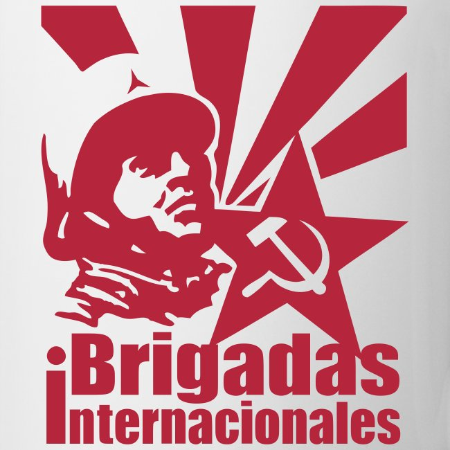 Spanish Civil War International Brigades Coffee Mug