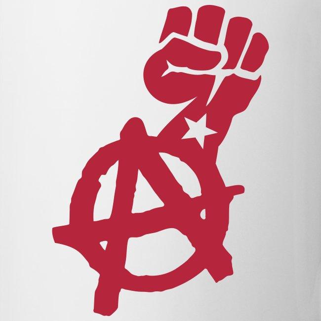 Anarchist Fist Coffee Mug