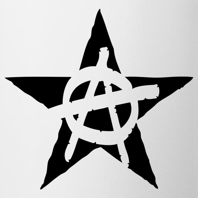 Anarchist Black Star Coffee Mug