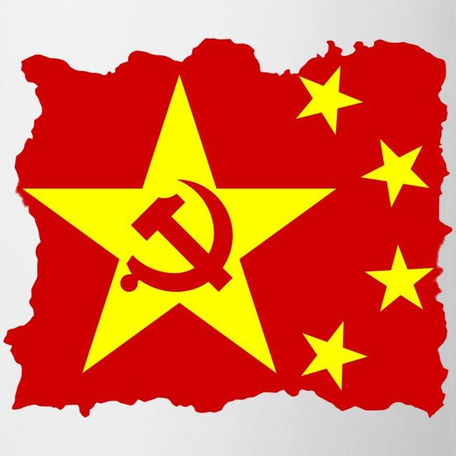 Communist Chinese Flag Coffee Mug