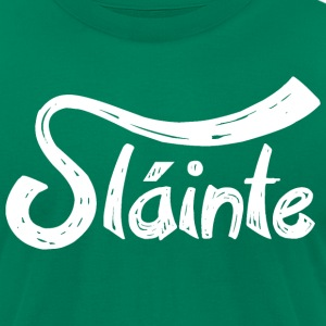 Slainte T-Shirts - Men's T-Shirt by American Apparel