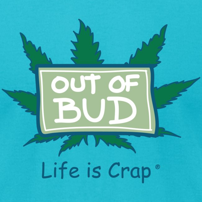 Out of Bud Sign - Mens T-shirt by American Apparel