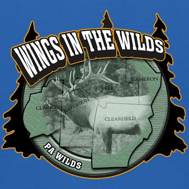 Kid's Hooded Sweatshirt- Wings in the Wilds
