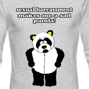 sexual harrassment panda - Men's Long Sleeve T-Shirt by Next Level