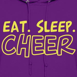 Eat Sleep Cheer Cheerleader Design Hoodies - Women's Hoodie