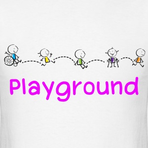 Playground - Men's T-Shirt