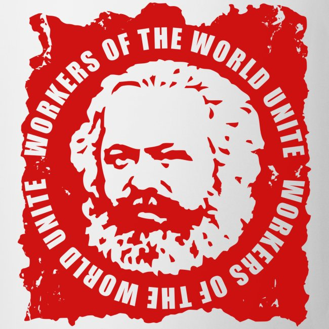 Karl Marx Slogan Coffee Mug