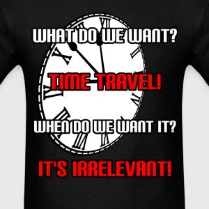 Time Travel T-Shirts - Men's T-Shirt