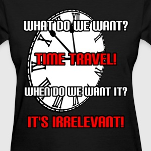 Time Travel Women's T-Shirts - Women's T-Shirt