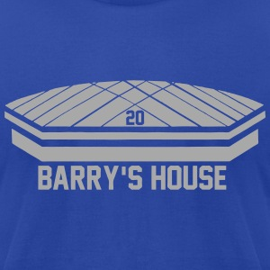 Barry's House T-Shirts - Men's T-Shirt by American Apparel