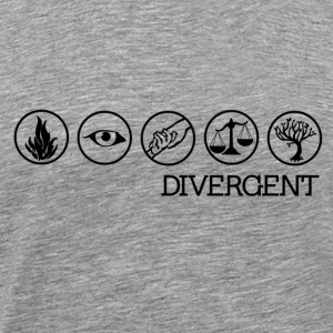Divergent Faction Symbols - Men's Premium T-Shirt