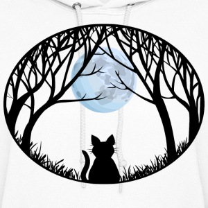 Cat Lover Hoodie Women's Cat Sweatshirt Jacket - Women's Hoodie