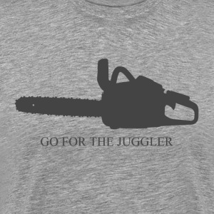 Go for the Juggler Men's Shirt - Men's Premium T-Shirt