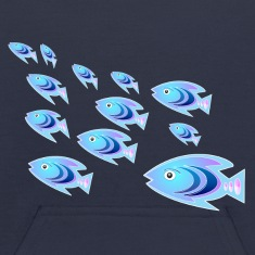 School of Reef Ladyfish