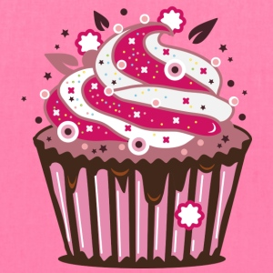 A cupcake with frosting Bags & backpacks - Tote Bag
