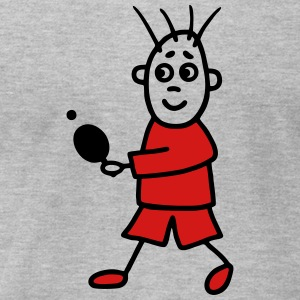 Table Tennis Players - V2 T-Shirts - Men's T-Shirt by American Apparel