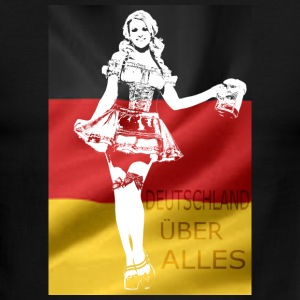 german-beer-girl-costume.png T-Shirts - Men's Ringer T-Shirt