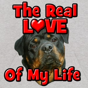 Rottweiler, The Real Love Of My Life Sweatshirts - Kids' Hoodie