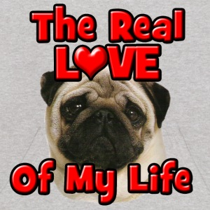 Pug, The Real Love Of My Life Sweatshirts - Kids' Hoodie