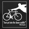 Michelangelo on Cycling - Men's Long Sleeve T-Shirt by Next Level
