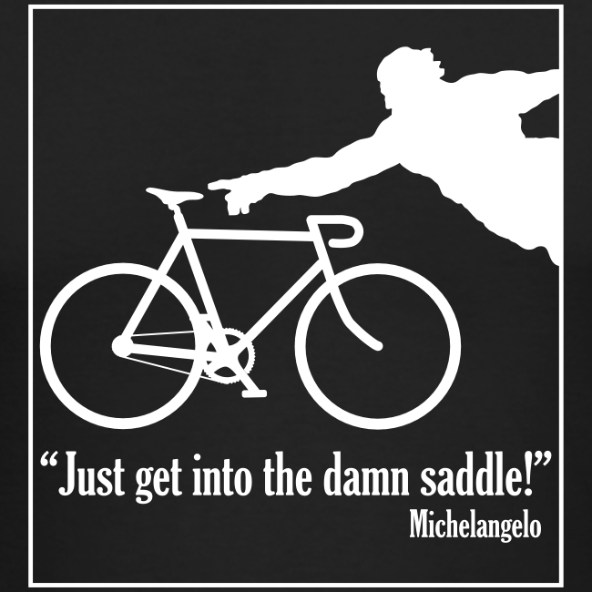 Michelangelo on Cycling