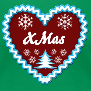 Lebkuchenherz Gingerbread xmas Love Christmas - Women's Premium T-Shirt