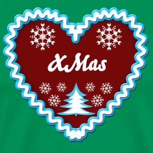 Lebkuchenherz Gingerbread xmas Love Christmas  - Men's Premium T-Shirt