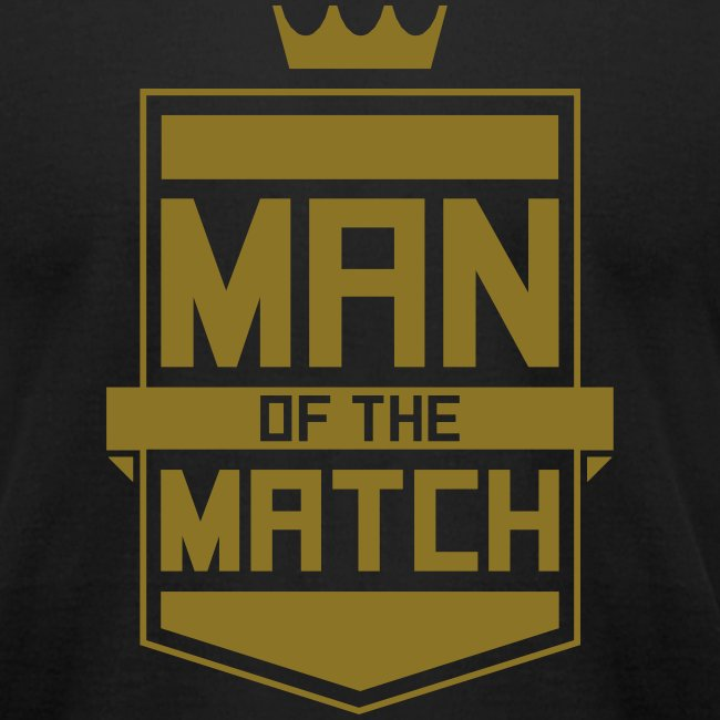 Man of the Match Men's Tee