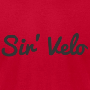 Sir' Velo - Men's T-Shirt by American Apparel