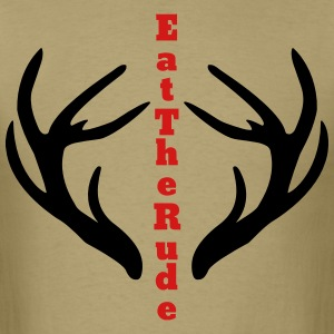 Eat The Rude T-Shirts - Men's T-Shirt