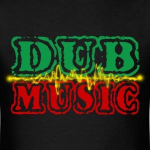 dub music T-Shirts - Men's T-Shirt