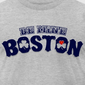 Boston Valentine T-Shirts - Men's T-Shirt by American Apparel