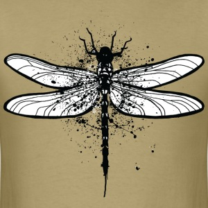 Splatted Dragonfly T-Shirts - Men's T-Shirt