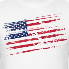 Distressed flag T-Shirts