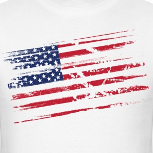 Distressed flag T-Shirts - Men's T-Shirt