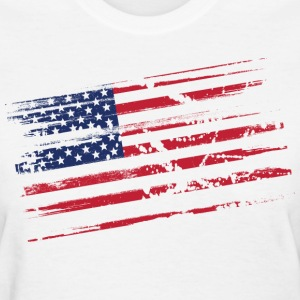 Distressed flag Women's T-Shirts - Women's T-Shirt