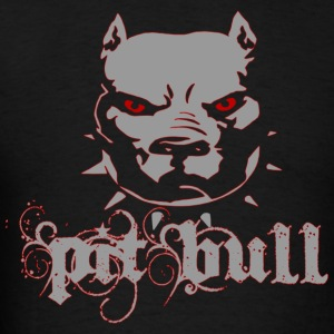 PitBull Grunge - Men's T-Shirt