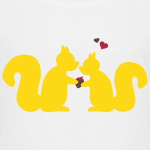 squirrels in love Kids' Shirts - Kids' Premium T-Shirt