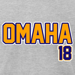 Omaha T-Shirts - Men's T-Shirt by American Apparel