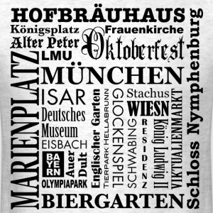 Bayern Bavaria Muenchen Munich Germany City Design - Men's T-Shirt