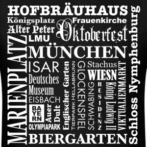 Bayern Bavaria Muenchen Munich Terms Germany City  - Men's T-Shirt