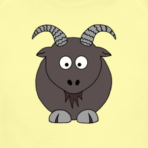 Billy Goat - Short Sleeve Baby Bodysuit