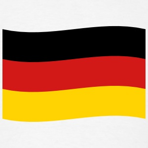 Germany Flag coat of arms Deutschland black red go - Men's T-Shirt