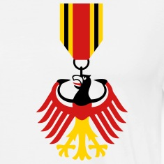 German Eagle Bundesadler Germany Coat of Arms Flag