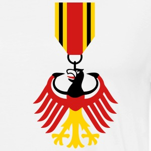 German Eagle Bundesadler Germany Coat of Arms Flag - Men's Premium T-Shirt