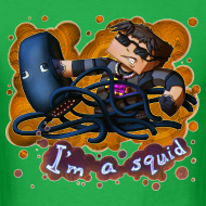 Design ~ Men's T Shirt: I'M A SQUID!