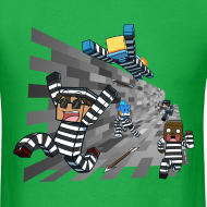 Design ~ Men's T Shirt: COPS N ROBBERS!
